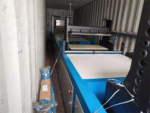 Delivery site of servo frp pultrusion equipment