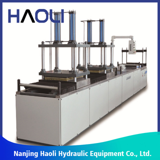 Servo-control Hydraulc Carbon Pultrusion Products Machine